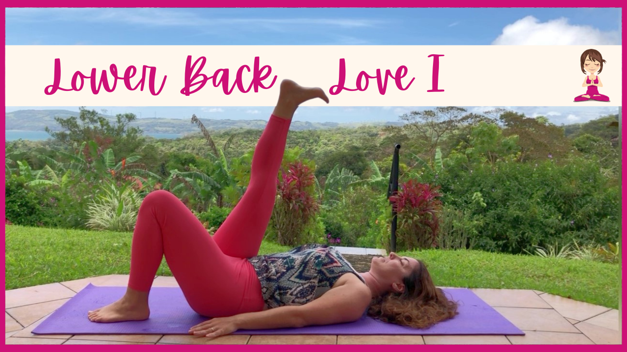 Short and Sweet Yoga Spring Sessions Lower Back Love 1 with Rebecca Bly Yoga and Retreats at RebeccaBly.com